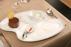 Het dessert van het restaurant Royalty-vrije Stock Fotografie