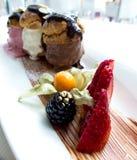 Het dessert van het roomijs Royalty-vrije Stock Afbeelding