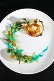 Het dessert van het roomijs royalty-vrije stock afbeeldingen