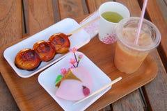 Het Dessert van Japan royalty-vrije stock foto's