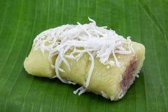 Het dessert van Thailand Stock Foto