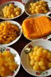 Het dessert van Thailand royalty-vrije stock afbeeldingen