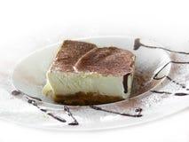 Het dessert van Tiramisu Royalty-vrije Stock Afbeeldingen
