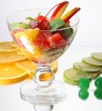 Het dessert van vruchten Stock Afbeeldingen