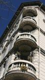 Het Detail van balkons in Italië Royalty-vrije Stock Foto's