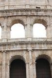 Het detail van Colosseum riep ook Coliseum in Rome Italië royalty-vrije stock afbeeldingen