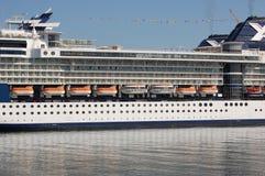 Het detail van Cruiseship Stock Afbeeldingen
