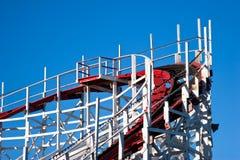 Het detail van de achtbaan Stock Foto