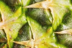 Het detail van de ananashuid Royalty-vrije Stock Foto