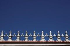 Het detail van de architectuur Stock Foto