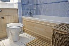 Het detail van de badkamers Stock Fotografie