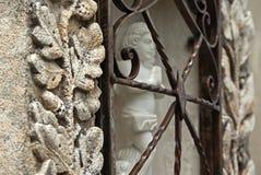 Het detail van de begraafplaats stock afbeeldingen