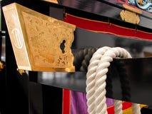 Het detail van de blokkenwagen Stock Foto