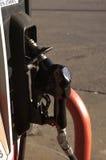 Het detail van de brandstofpomp stock afbeeldingen