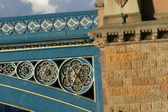Het Detail van de brug royalty-vrije stock fotografie