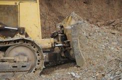 Het Detail van de bulldozer royalty-vrije stock foto's