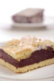 Het detail van de cake Stock Foto's