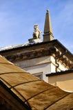 Het Detail van de Daken van Rome Stock Fotografie