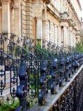 Het Detail van de de 19de Eeuwarchitectuur van Glasgow, Schotland Royalty-vrije Stock Foto