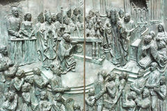 Het detail van de deur royalty-vrije stock foto