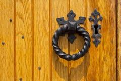 Het Detail van de deur Stock Afbeeldingen