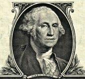 Het Detail van de dollar Royalty-vrije Stock Foto's