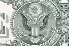Het Detail van de Dollar van de V.S. Stock Fotografie