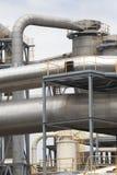 Het detail van de fabriek Stock Fotografie