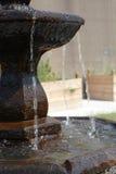 Het detail van de fontein Stock Foto