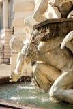 Het detail van de fontein Stock Foto's