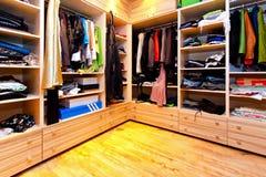 Het detail van de garderobe Stock Foto's