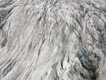 Het detail van de gletsjer Stock Foto's