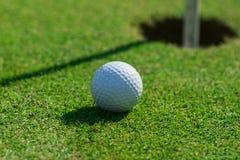 Het detail van de golfcursus stock afbeelding