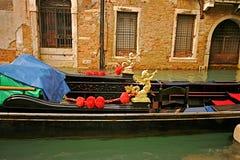 Het Detail van de Gondel van Venetië Royalty-vrije Stock Afbeeldingen