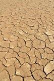 Het detail van de grond van droge pan, Sossusvlei, Woestijn Namib Stock Foto's