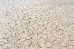 Het detail van de grond van een droge pan, in de Sossusvlei zandduinen, Namib DE Royalty-vrije Stock Afbeeldingen