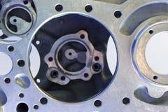Het detail van de helikoptermotor stock foto's