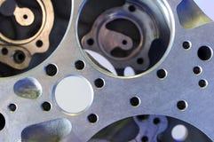 Het detail van de helikoptermotor royalty-vrije stock afbeelding