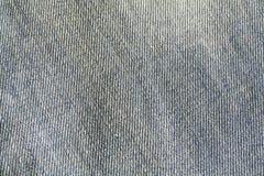 Het detail van de jeanstextuur Stock Foto's