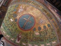 Het detail van de kerk Stock Fotografie