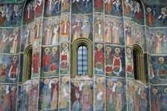 Het detail van de kerk stock foto