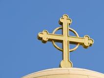 Het detail van de kerk in Bethany, Jord Stock Foto's