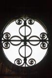 Het detail van de kerkdeur Stock Afbeeldingen