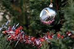 Het detail van de kerstboom Royalty-vrije Stock Fotografie