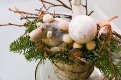 Het detail van de Kerstmisdecoratie Stock Fotografie