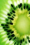 Het detail van de kiwi Stock Fotografie
