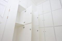 Het detail van de kleedkamer Stock Foto
