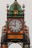 Het detail van de Klok van Eastgate in Chester, Engeland Stock Fotografie