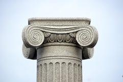 Het detail van de kolom Stock Foto's