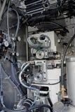 Het detail van de machine stock foto